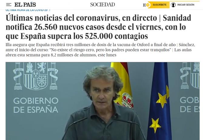 bilant spania 07 septembrie explozie a cazurilor