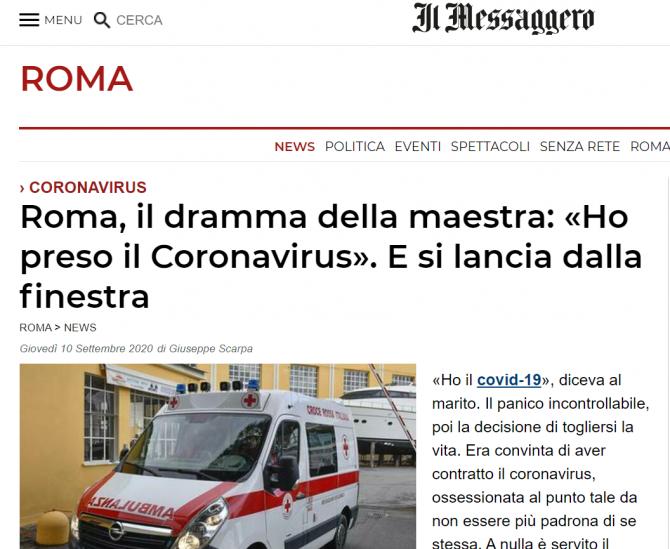 femeie sinucidere italia