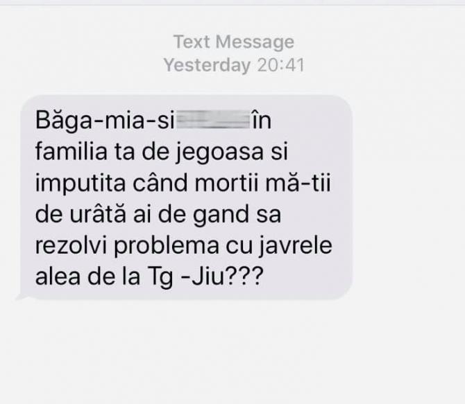 sms violeta alexandru