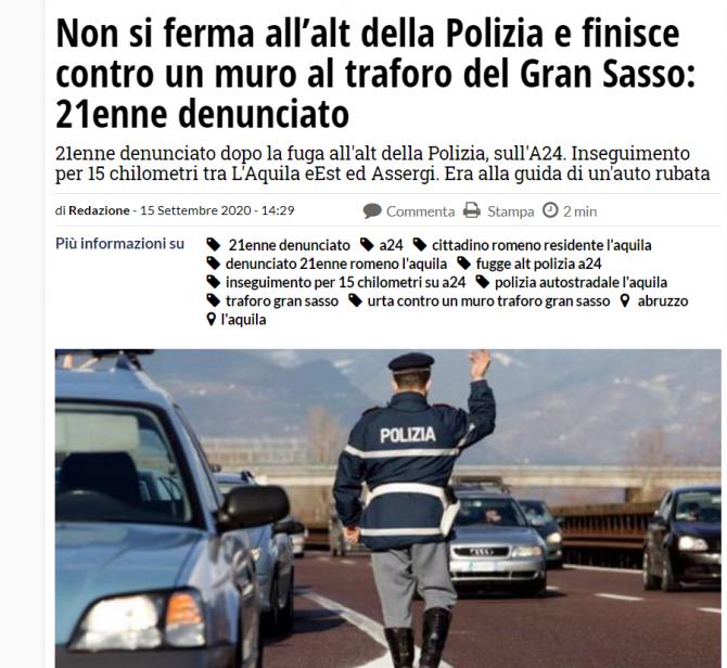 roman cursa nebuna italia
