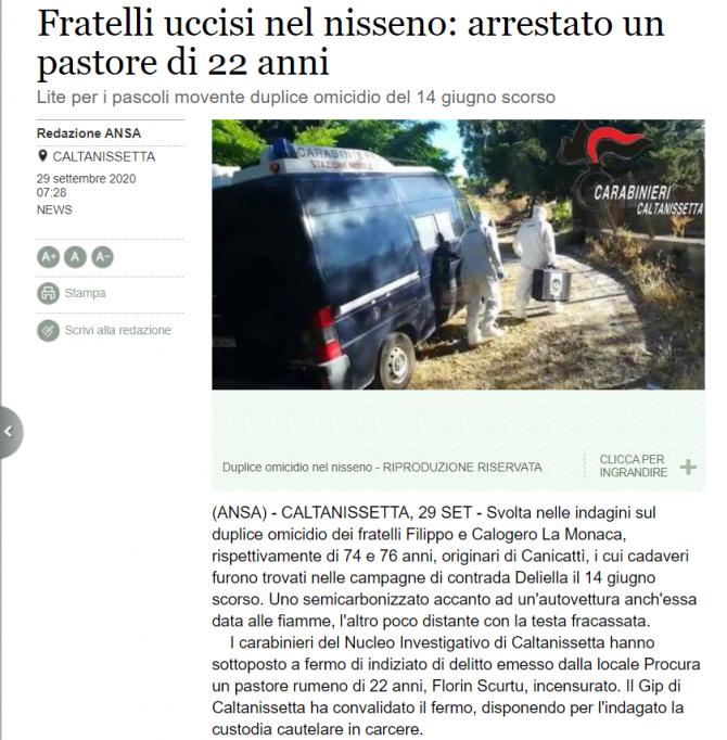 cioban roman italia arestat