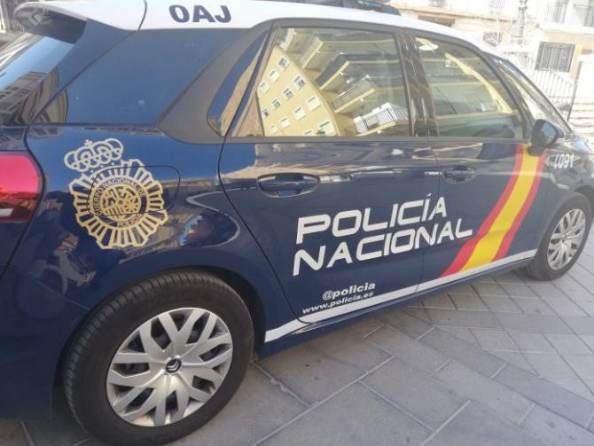 politia_spania_masina