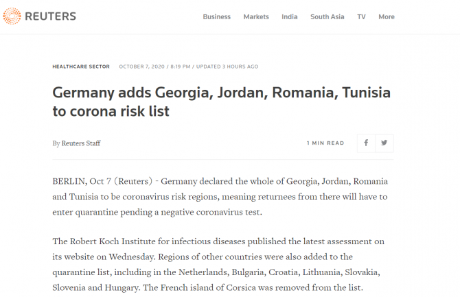 germania include romania zona rosie