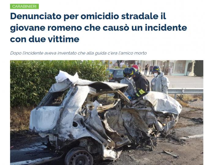 accident mortal canaro roman