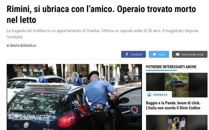 roman gasit mort italia