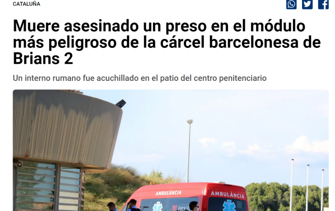 detinut roman asasinat spania