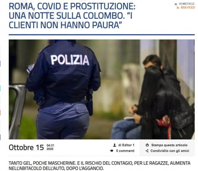 italia razie prostituate romance masca