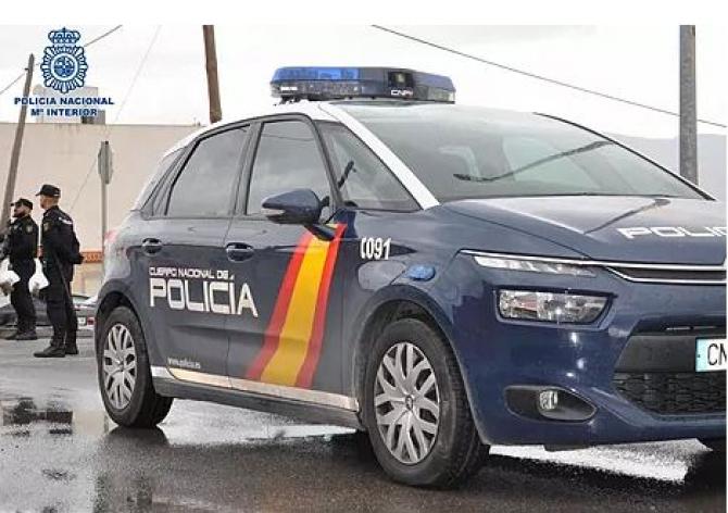 spania_masina_politie