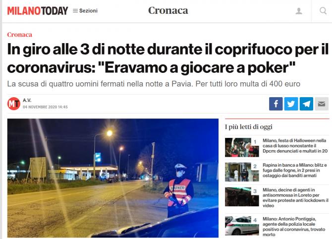 romani amendati italia poker