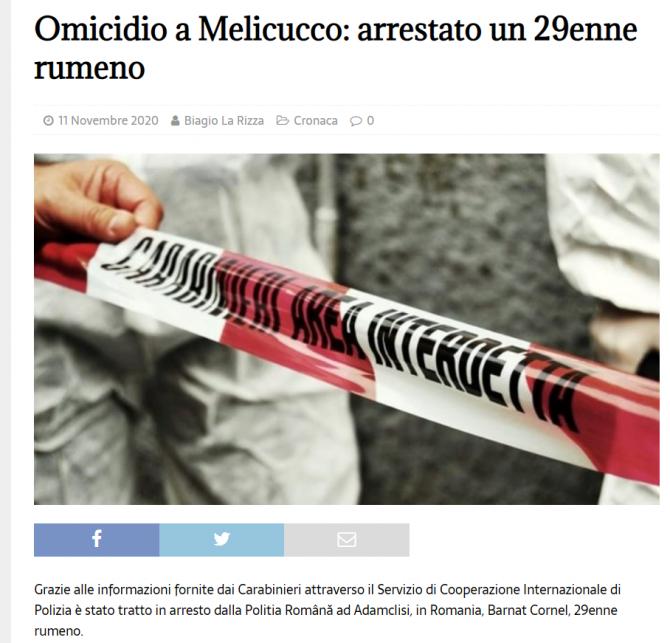roman arestat crima italia