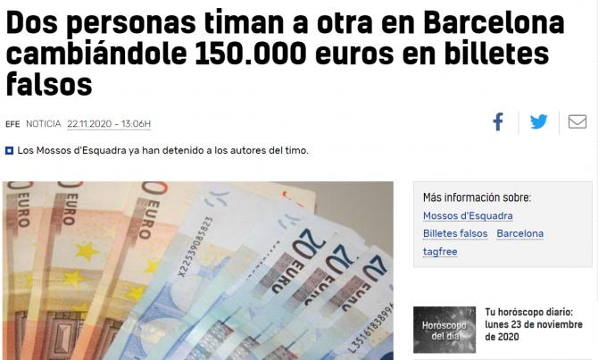 romani bani falsi spania
