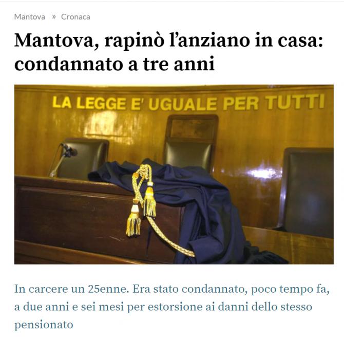 roman condamnat pensionar italian