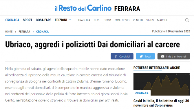 roman arestat italia scandal carabinieri