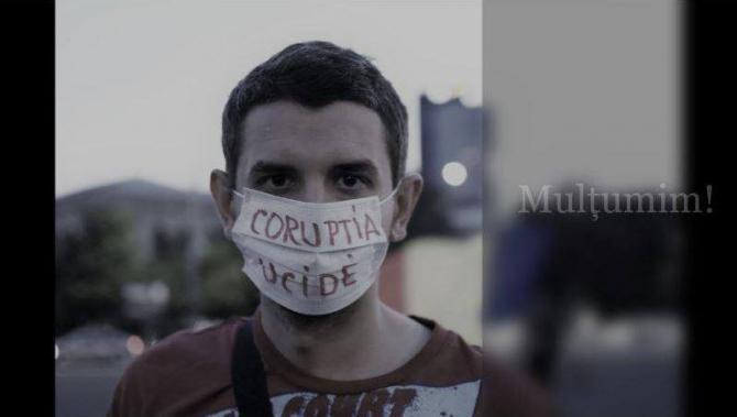 Alexandru Socol - Corupţia Ucide / Facebook