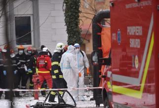 Incendiu Matei Balș. Sursa foto: Agerpres