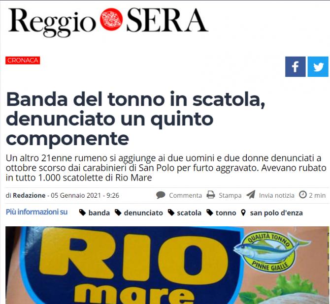 romani italia ton rio mare