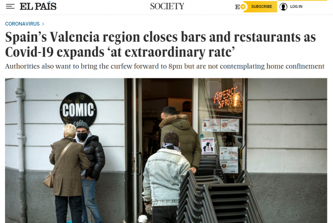 restrictii valencia
