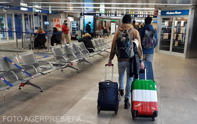 Formularul digital de localizare a pasagerilor (dPLF), obligatoriu pentru toţi cei care călătoresc în Italia