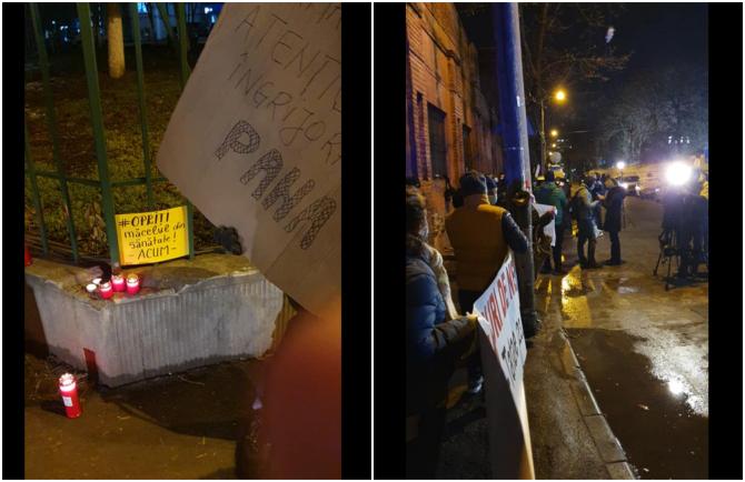 Protest Matei Bals (Foto: FB)