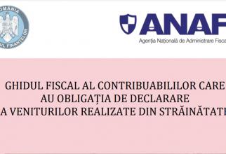 Ghidul fiscal al contribuabililor care realizează venituri din străinătate