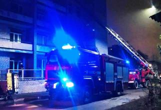 incendiu spital craiova