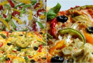 Pizza colorată, una dintre cele mai de succes rețete ale momentului cu ingredientele pe care le ai mereu în frigider
