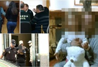Spania. Fetiță româncă de 4 ani, torturată, violată și ucisă. Magistrații, pedeapsă exemplară definitivă pentru călăul Sarei