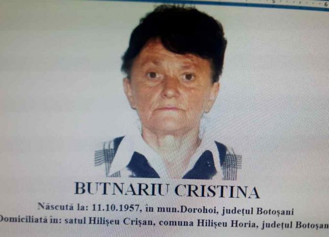 Butnariu Cristina, româncă dispărută în Italia