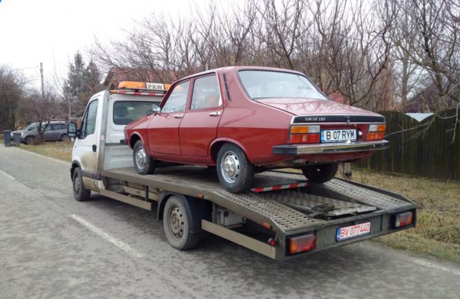 Dacia 1300 la export în SUA (Foto: FB)