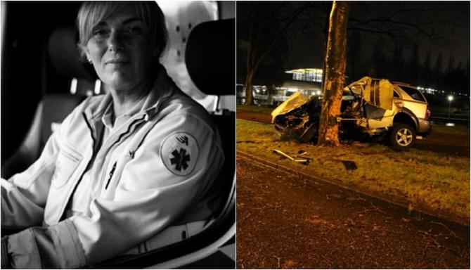 Drama unei ambulanțiere din Olanda. Și-a găsit fiul mort în accidentul la care intervenea