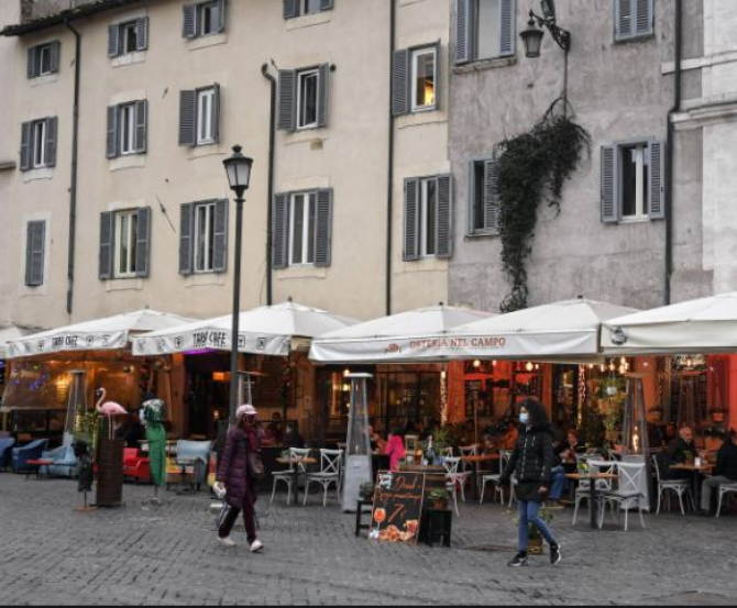 italia restictii suplimentare in cinci regiuni