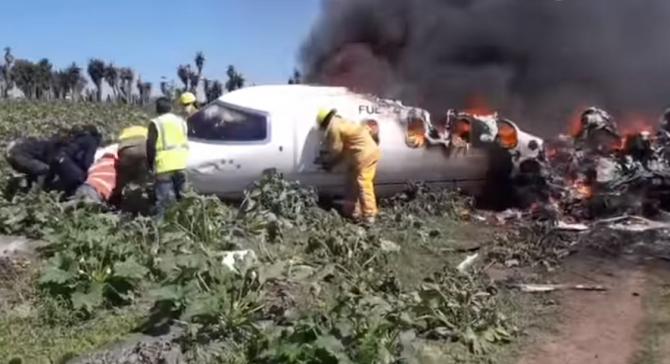 Mai mulţi morţi într-un accident de avion, în Mexic