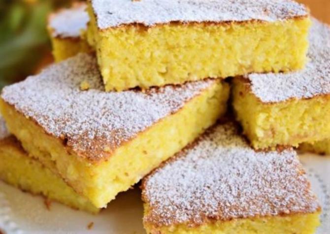 Mălai Dulce - rețeta de prăjitură cu mălai a bunicii