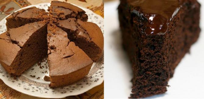 Prăjitura cu ciocolata din piure de cartofi