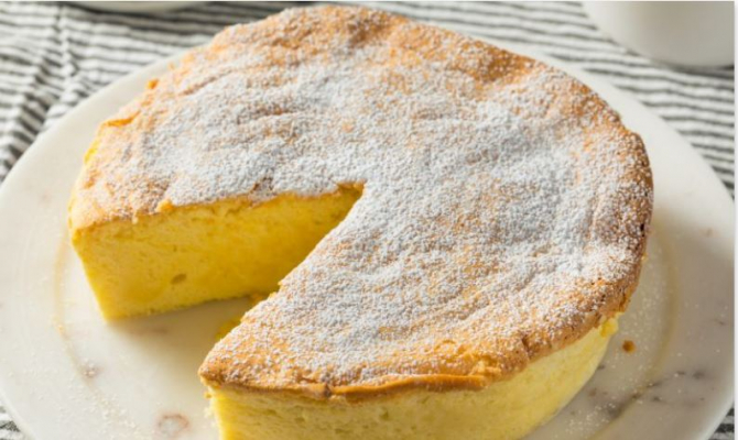 Prăjitura pufoasăa fara faina si drojdie