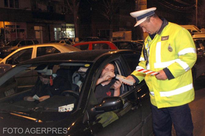 Actiune efectuata de Brigada de Politia Rutiera  a Capitalei pentru depistarea si sanctionarea conducatorilor auto care incalca regimul legal de viteza si conduc sub influenta bauturilor alcoolui.