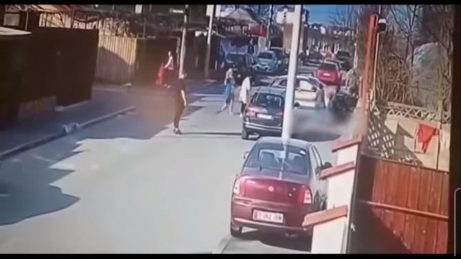 video accident andronache
