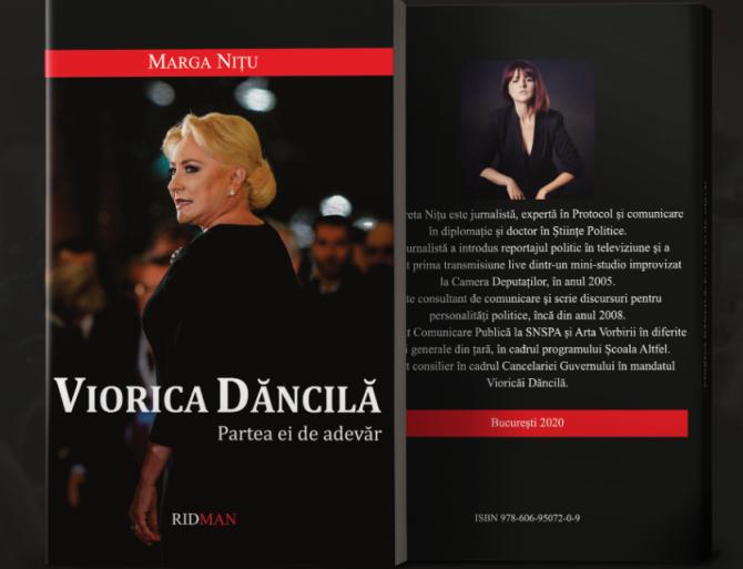 "Volumul ""Viorica Dancila. Partea ei de adevar"" (Sursa foto: daffisbooks.ro)"