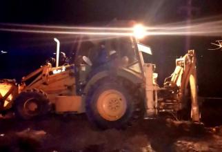 accident tractor si autotren sursa romania24