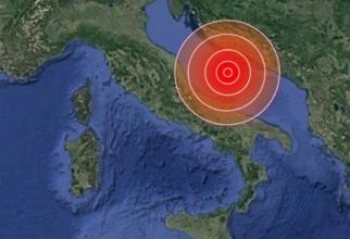 Cutremur în Italia urmat de numeroase replici