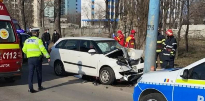 accident rutier grav in mamaia