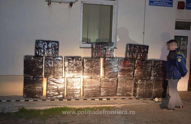 contrabanda cu tigari frontiera romaniei