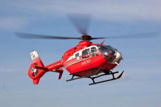 elicopter smurd minora salvata