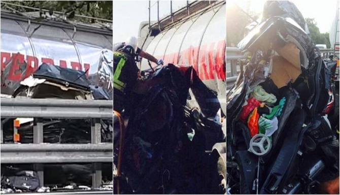 """Italia. Gemeni de 7 luni, morți după ce camionul unui șofer român a făcut explozie la roată: """"Anvelopa era uzată"""""""