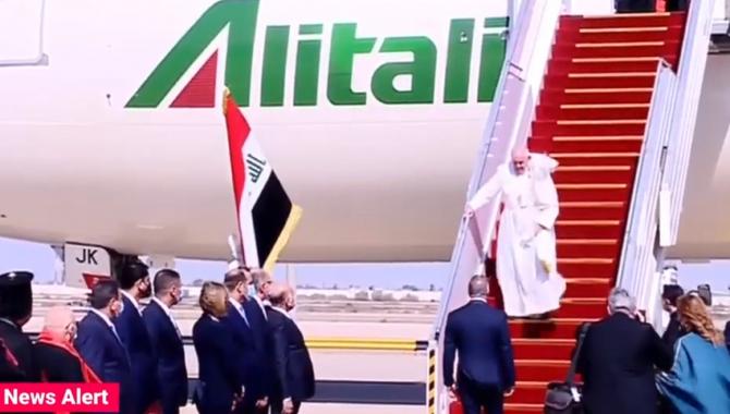 Papa Francisc a pledat, la Bagdad, pentru încetarea violenţelor şi atenuarea inegalităţilor