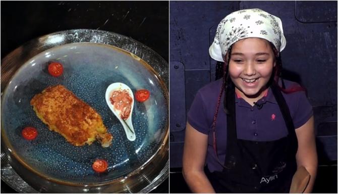 """""""Reactor de chicken"""", rețeta inventată de o fetiță de 10 ani pentru Chefi la cuțite. Florin Dumitrescu """"Ăsta e puiul perfect!"""""""