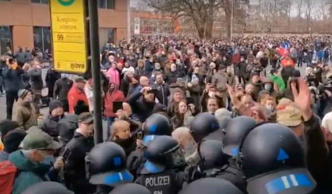 Protest Germania - captura video