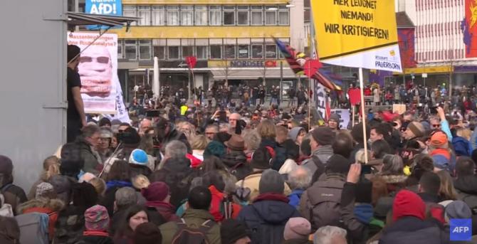 proteste anti covid germania