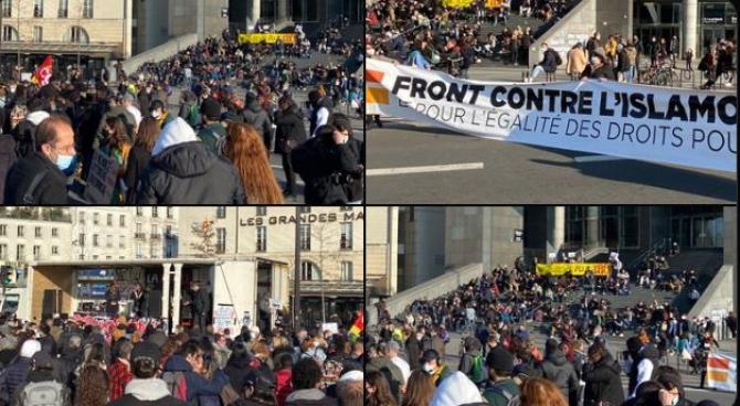 proteste paris 20 martie