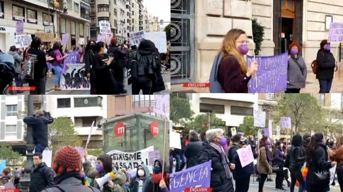 proteste spania 8 martie